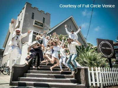 Full Circle Crew on Stairs