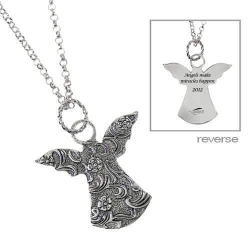 alexas angels angel necklace