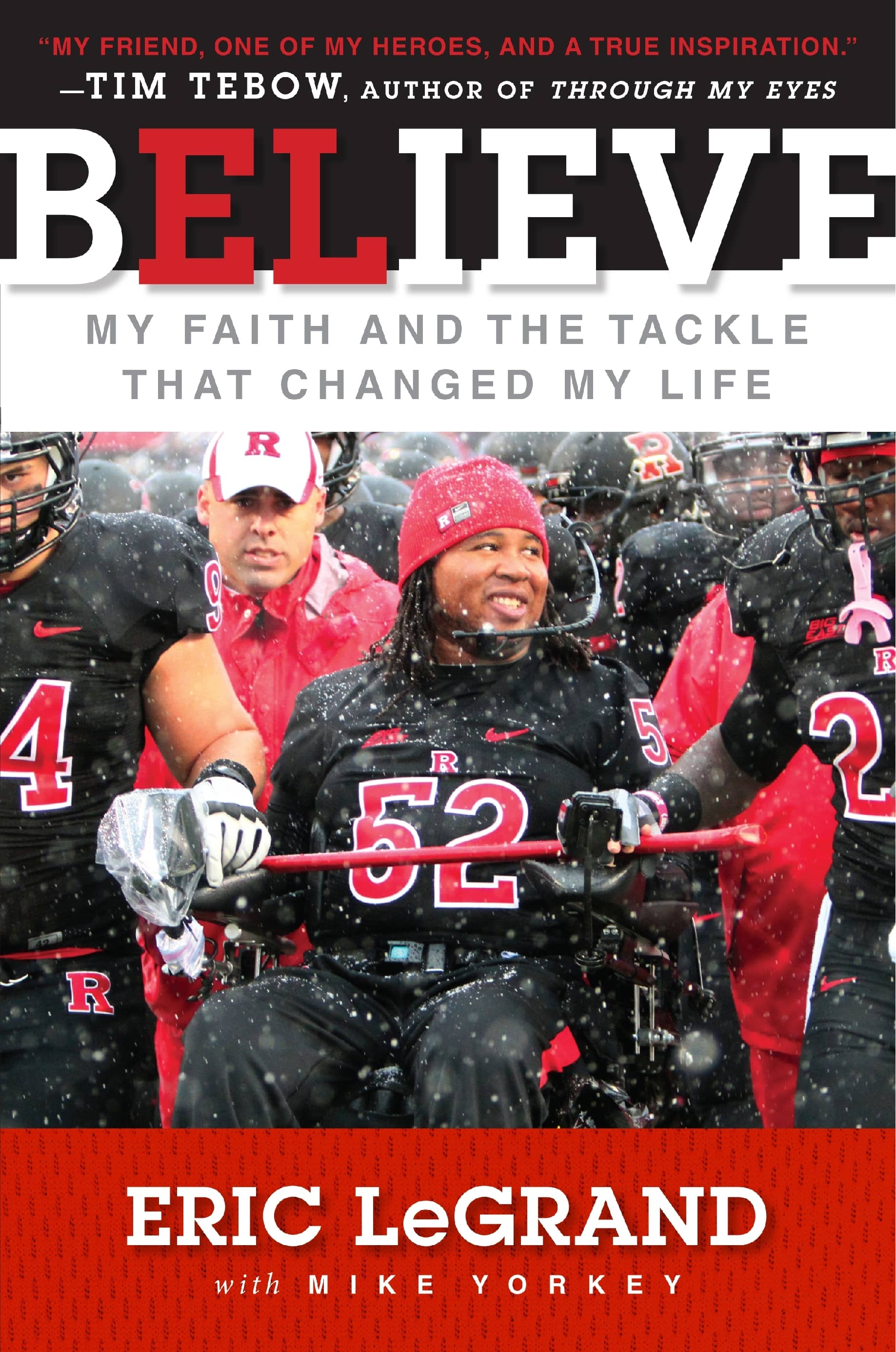 Eric LeGrand Book Cover