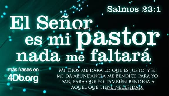 Jehová es mi pastor nada me faltará salmo 23 - Beliefnet