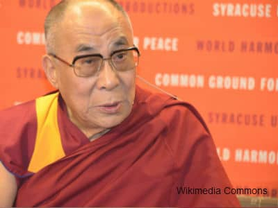 Dalai Lama at Syracuse University