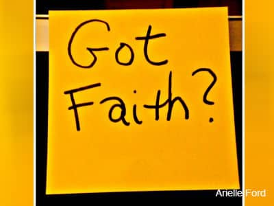 Got Faith Post it