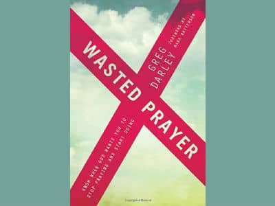 Wasted Prayer Book Cover
