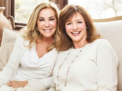 Jennifer Morgan and Kathie Lee Gifford