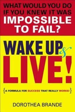 wake up and live book cover