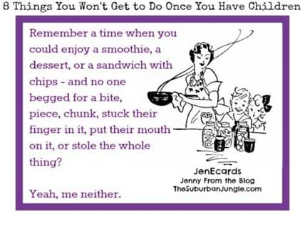 8 Things You Wont Get To Do Once You Have Children By Jenny Isenman