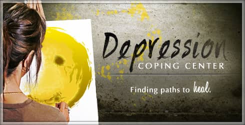 Living with Depression banner