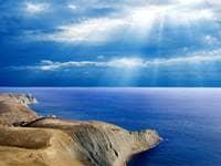 Sea Shore and Sky