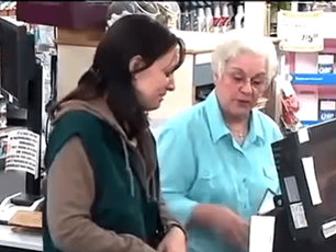 Strangers Paying for Single Parent's Groceries