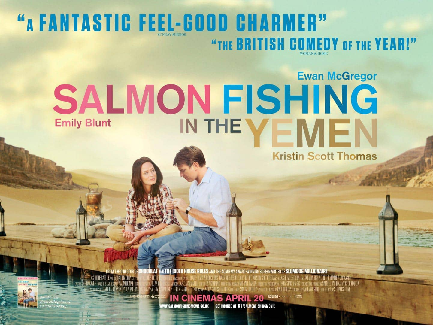 salmon fishing in the yemen movie poster
