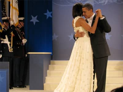 Michelle Obama - Dancing at Inaugural Ball