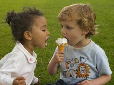 Empathy - Kids Sharing Ice Cream Cone