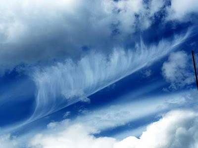 Angel Sightings angel cloud feather