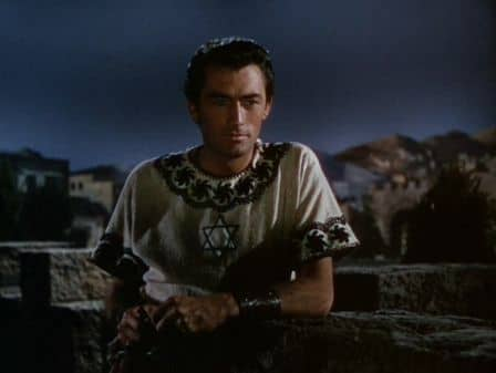 Gregory Peck in David and Bathsheba