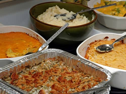 Holiday casseroles