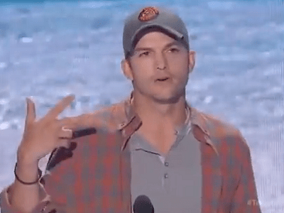 Ashton Kutcher Speech