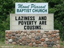 Controversial Church Signs