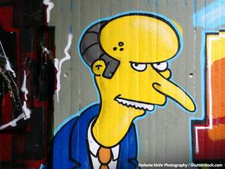 The Simpsons, Mr. Burns