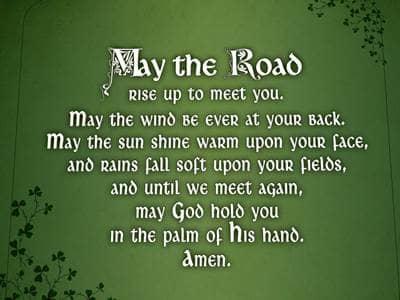 we hope you will enjoy these irish blessings we ve chosen