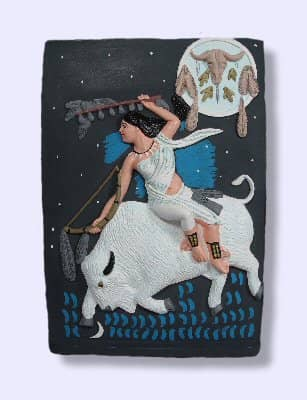 White Buffalo Calf Woman Native American Spirit