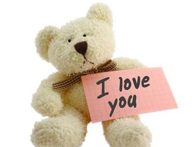 i love you teddy. Say I Love You with a Teddy