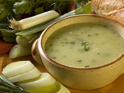 Comfort Food Recipes Leek Soup