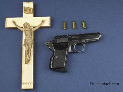 Cross and Gun
