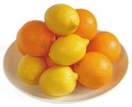 lemons and orange
