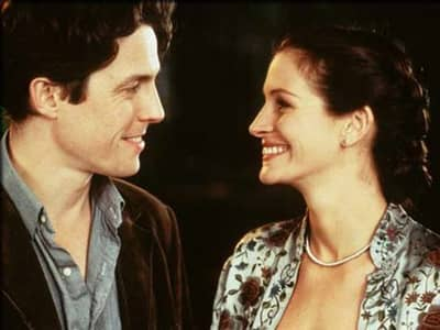 Julia Roberts as Anna Scott in Notting Hill