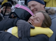 Olympic Mom Hug