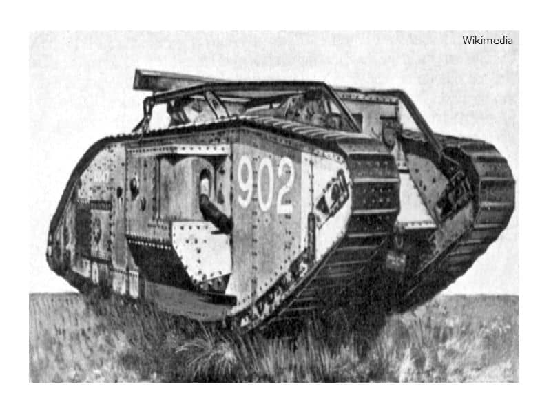 British Mark V Tank WWI