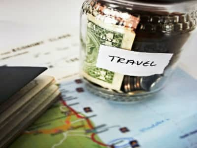 saving for traveling