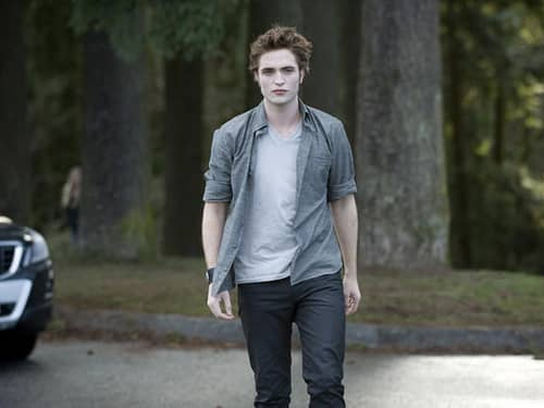 Edward Walking Alone