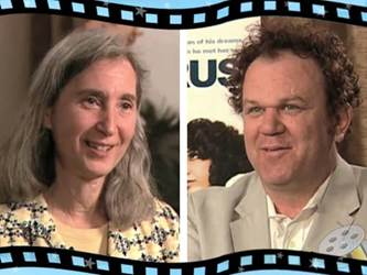 Movie Mom Nell Minow and John C. Reilly