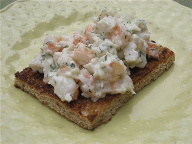 swedish toast skagen