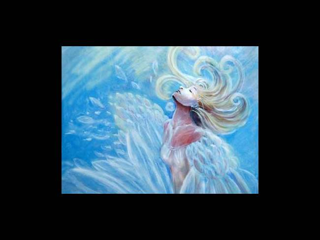 Your Original Angel Art Transformation Angel by Rosemary Babikan