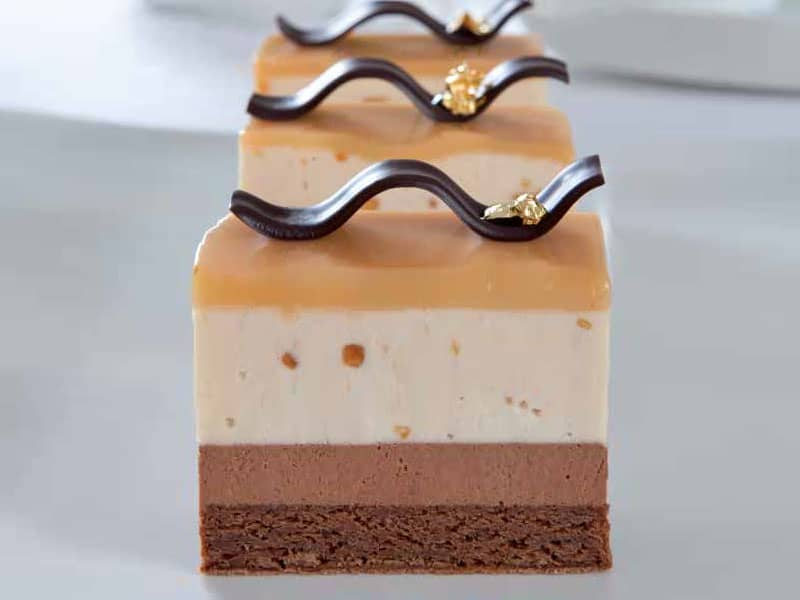 Chocolate and PB Mousse Cake
