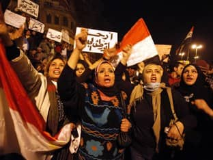 Egyptian Women Take Charge in Cairo