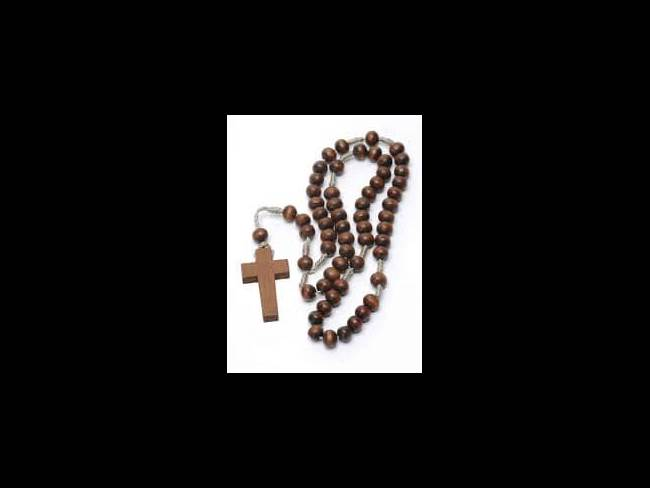 rosary brown