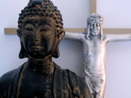 Buddha and Jesus