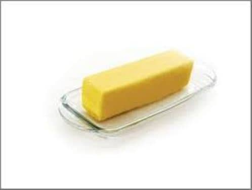 Tablespoon of butter for 1 tablespoon of butter
