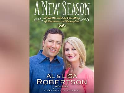 Alan and Lisa Robertson Book Cover