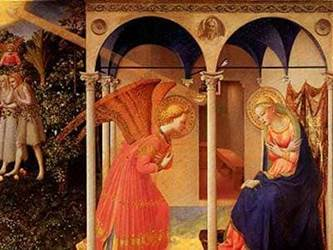 The Annunication by Fra Angelico