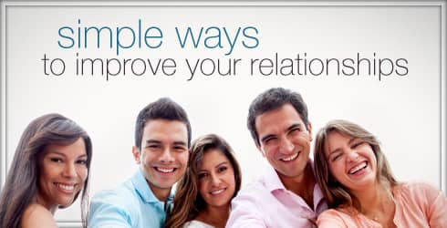 Improve relationships