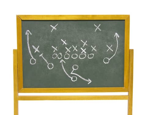 Football play plans