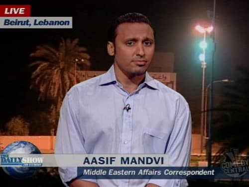 Aasif Mandvi of the Daily Show