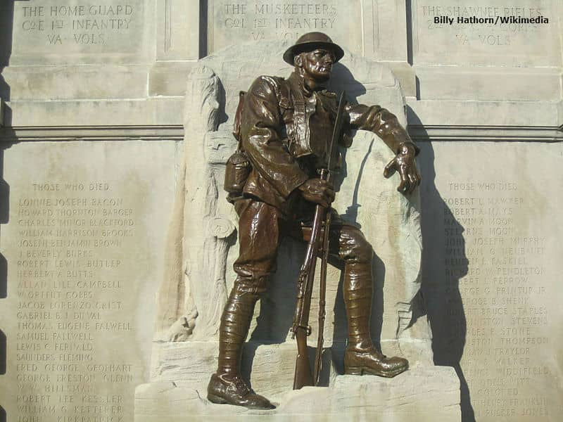 WWI Memorial Lynchburg