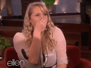 Waitress Surprised by Ellen