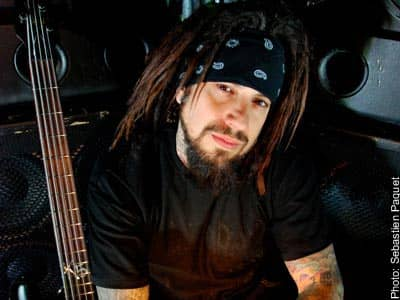 Fieldy from Korn