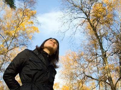 solitary walk through nature